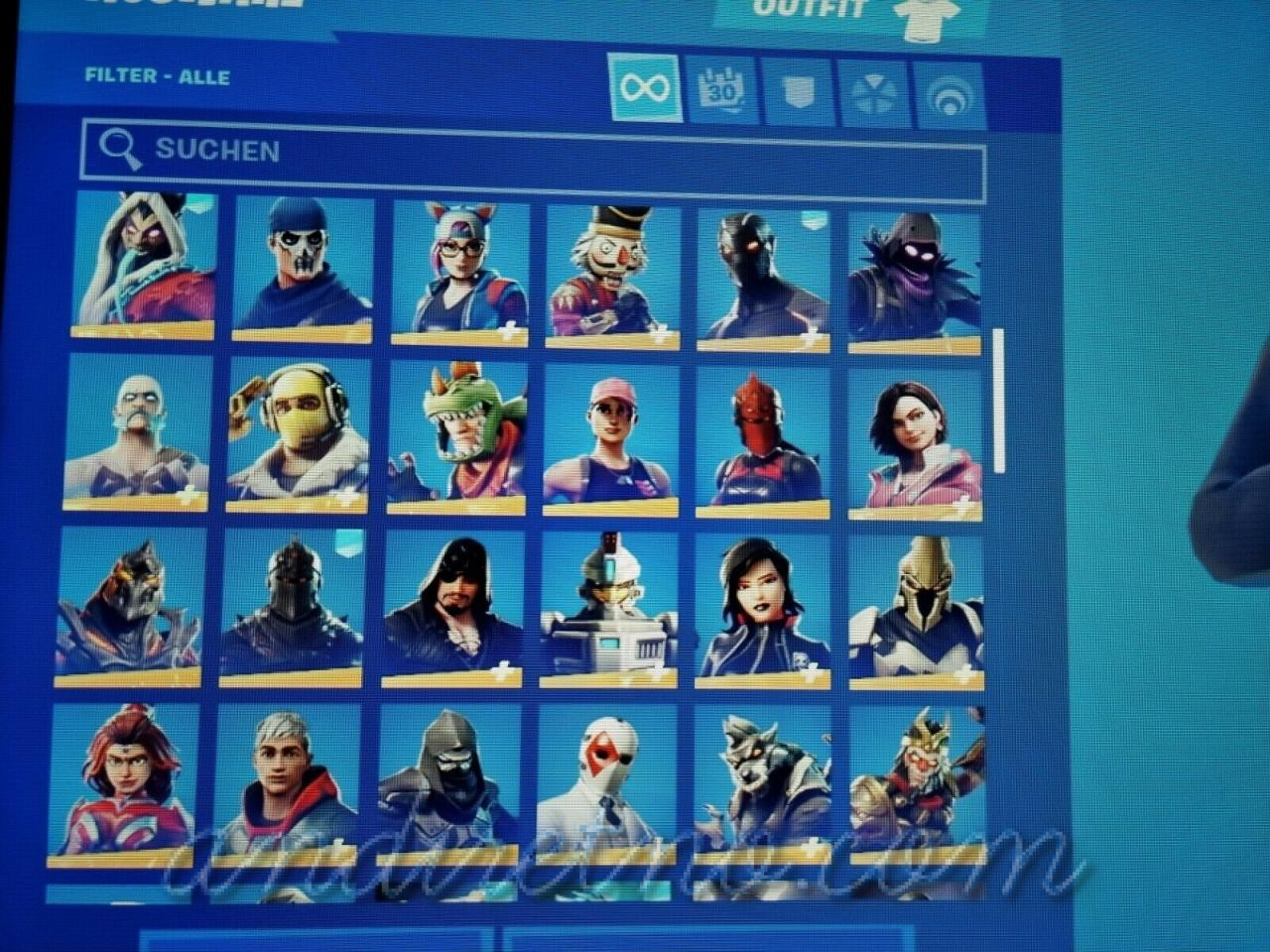 Image 21 - FN account OG/Legendary Skins!!! Galaxy and Black Knight