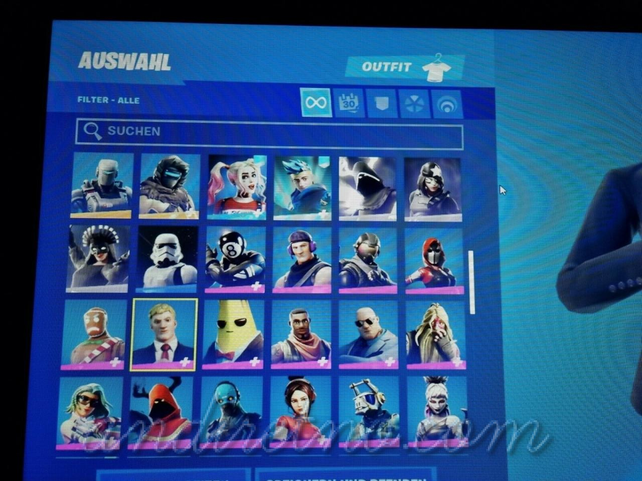 Image 31 - FN account OG/Legendary Skins!!! Galaxy and Black Knight