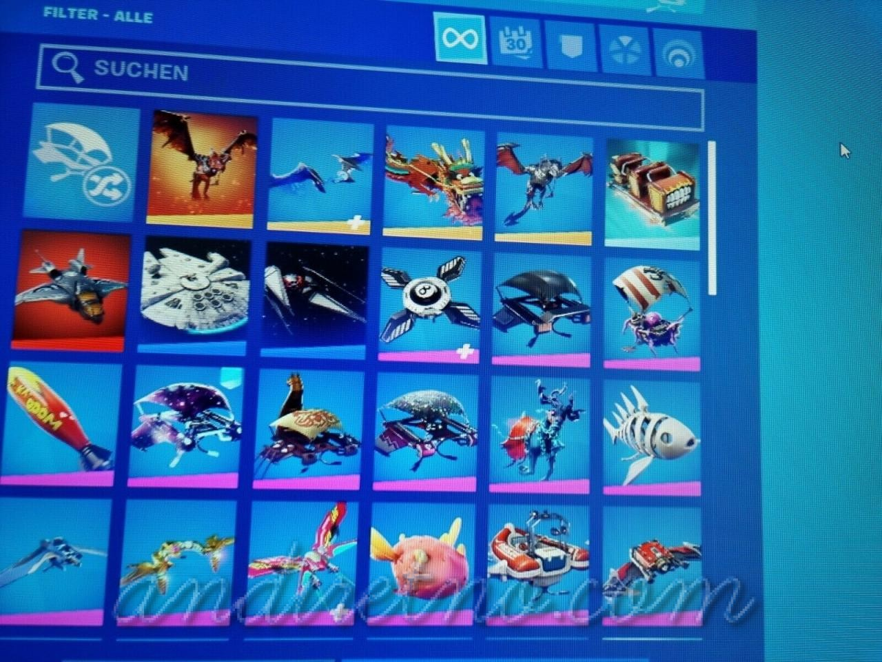 Image 61 - FN account OG/Legendary Skins!!! Galaxy and Black Knight