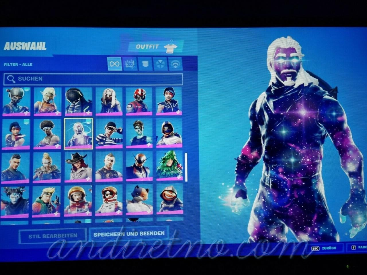 Image 1 - FN account OG/Legendary Skins!!! Galaxy and Black Knight